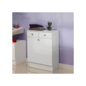 meuble a linge sale blanc achat vente meuble a linge sale blanc pas cher cdiscount. Black Bedroom Furniture Sets. Home Design Ideas