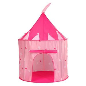 TENTE TUNNEL D'ACTIVITÉ Tente de Jeu pour Enfants Princesse Pop Up Chateau