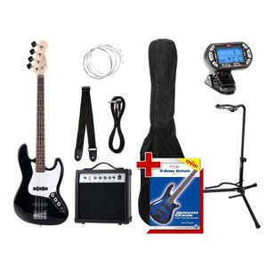 BASSE Rocktile Groovers Pack JB Basse eléctrique Set …