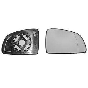 Pour Ford Ka 08-16 Gauche Côté Passager Plat aile miroir de verre avec plaque