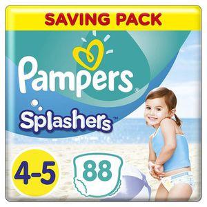 COUCHE Pampers Splashers Pantalons de bain jetables - Tai
