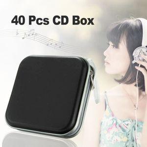 ÉTUI VIDÉOPROJECTEUR CD DVD Sacoche Plastique 40 Capacités Classeur Ran