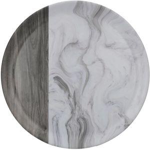 LACOR-Plat Ovale en M/élamine 17 x 13 x 5 cm Noir