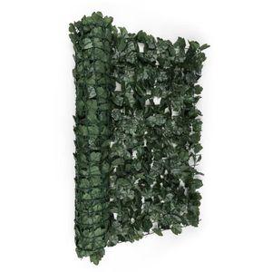CLÔTURE - BARRIÈRE Blumfeldt Fency Dark Ivy Clôture pare-vue Paravent