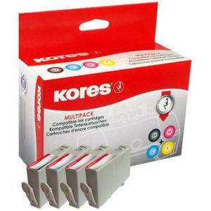 CARTOUCHE IMPRIMANTE Kores Multipack Encre G1756KIT remplace hp 903XL 0