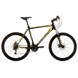 "VTT VTT semi-rigide 26"" Sharp noir-jaune KS Cycling"