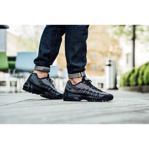 BASKET Baskets Nike Air Max 95 Ultra Jacquard noires - 74