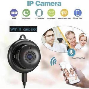 CAMÉRA MINIATURE Caméra Cachée  Mini Caméra WIFI IP sans fil caméra