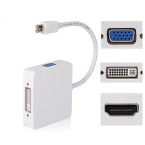 CÂBLE RÉSEAU  Adaptateur Thunderbolt vers HDMI VGA DVI pour MacB