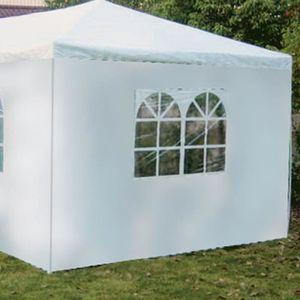 TONNELLE - BARNUM Côté de tente fenêtre blanc 2.9 x1.9m