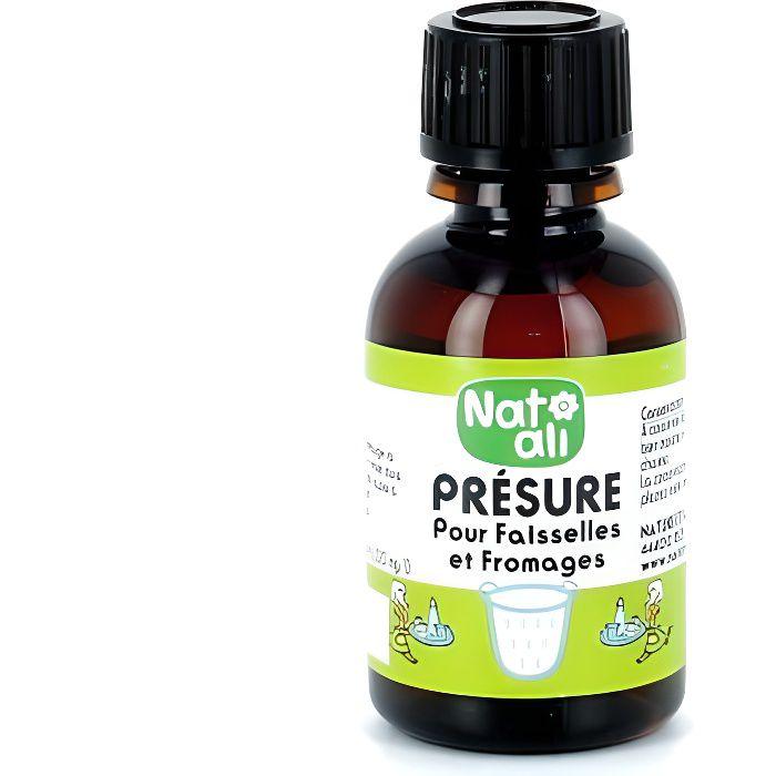 NAT-ALI - Présure pour faisselles et fromages 30 ml