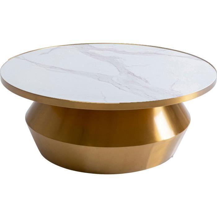 Table basse Wonder blanche 80cm Kare Design