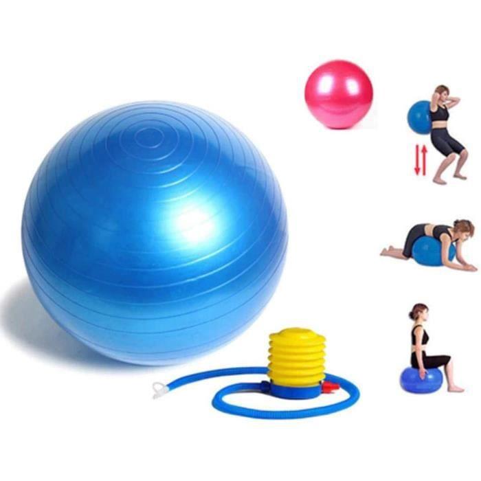 Trading Innovation Anti-éclatement Yoga Balle - 65cm, Exercice Balle Pour Balance, Core Strength Gym Balle W / Pompe Yoga...