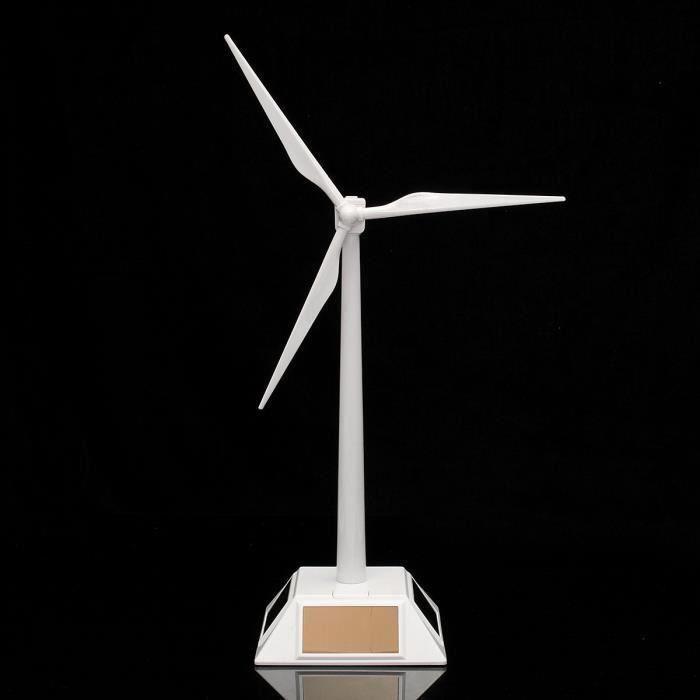 modele en plastique-solaire eolienne eolienne eolienne decor de bureau decor de science jouet nouveau My11086