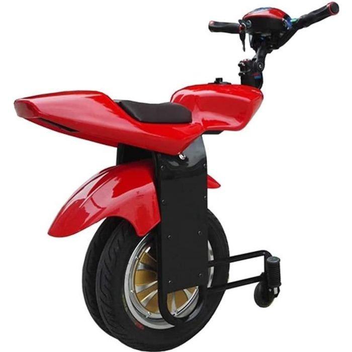 SCOOFER SOAD SOI 500W scooter électrique adulte monoroue moto à deux roues, avec roues de support et haut-parleur bluetooth[420]