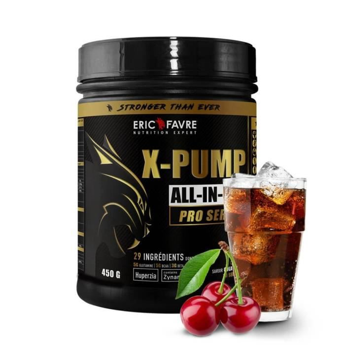 X Pump - ALL IN ONE Pro Series - Eric Favre 450g Cola - Cerise