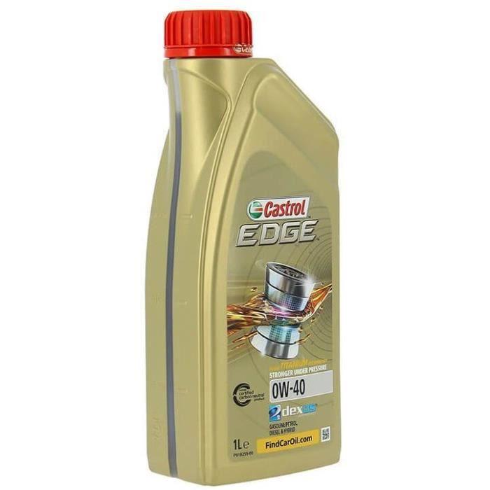 CASTROL Huile moteur EDGE 0W-40 1L