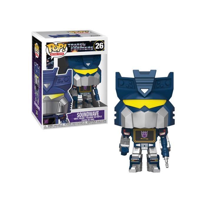 Figurine Transformers - Soundwave Pop 10cm