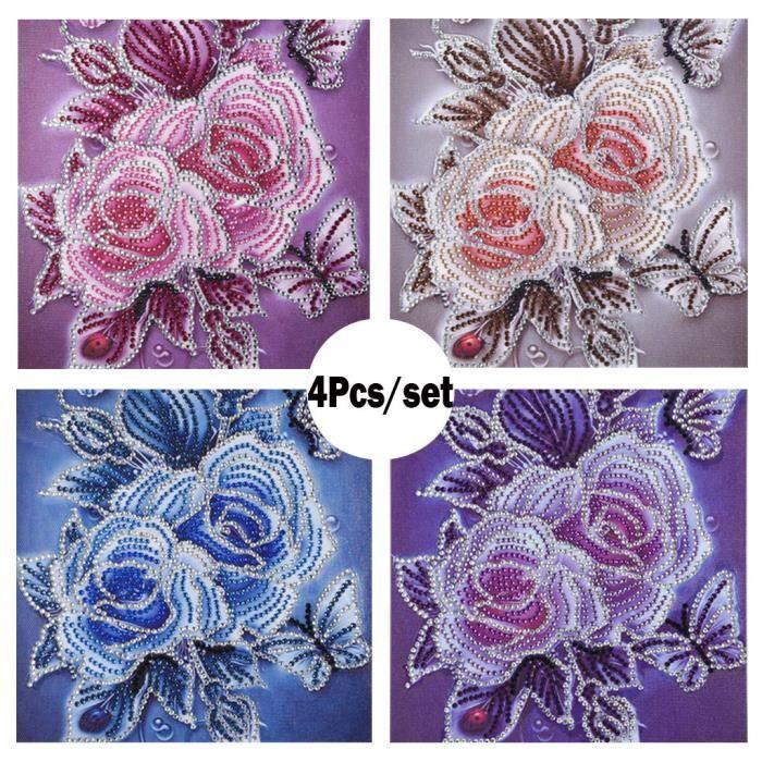 5D peinture au diamant Broderie Broderie mosaïque Forage sous forme spéciale