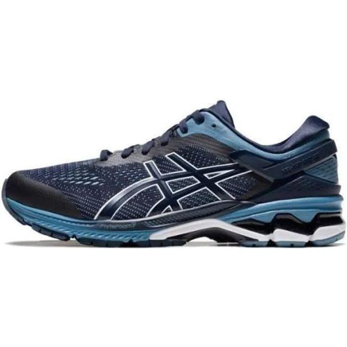 Chaussures de course Asics Gel-kayano 26 pour hommes noires et ...