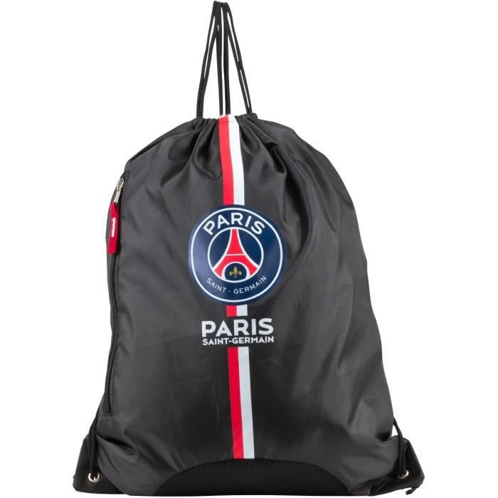 psg sac dos sacky bag noir achat vente sac de sport psg sac dos sacky bag cdiscount. Black Bedroom Furniture Sets. Home Design Ideas