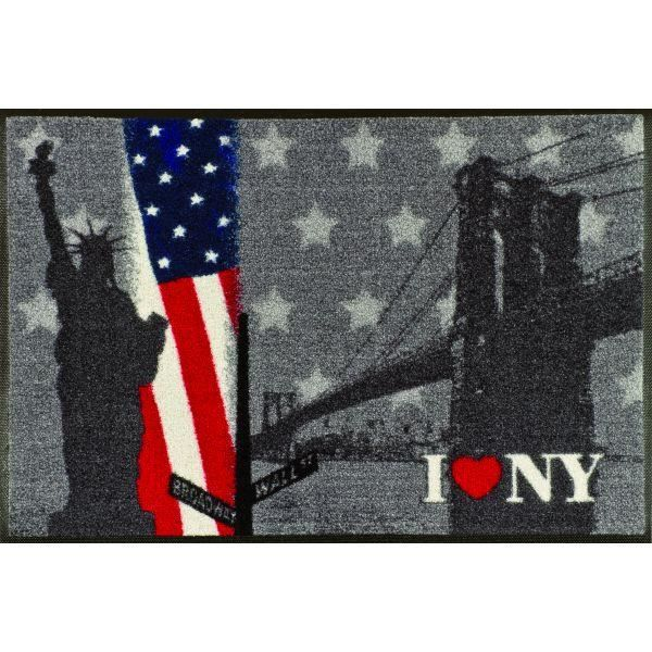 Tapis design new york achat vente paillasson cdiscount for Tapis chambre new york