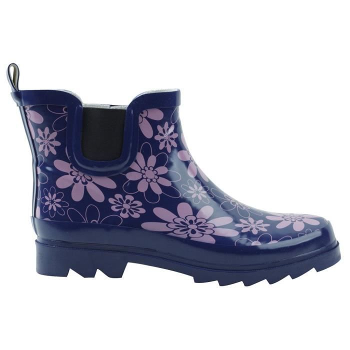 Motif d'impression imperméable Welly Bottines HLIVI Taille-37