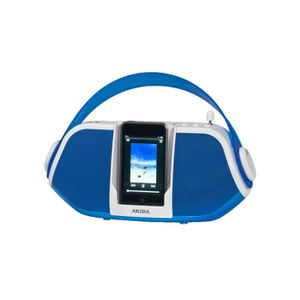 STATION D'ACCUEIL STATION D ACCUEIL IPOD/IPHONE ALARM CLOCK RADIO…