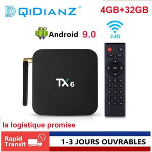 BOX MULTIMEDIA DQiDianZ TX6 Android 9.0 4GB+32GB Smart TV BOX All