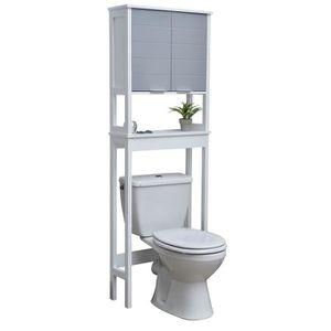 Meuble de rangement toilettes ou salle de bains - Achat ...