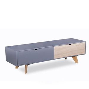 Table basse bois grise achat vente table basse bois - Table de salon grise ...