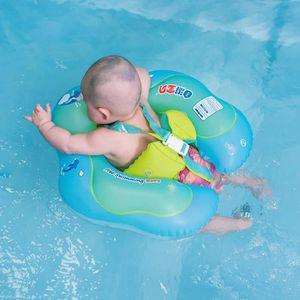 BOUÉE - BRASSARD Bouée Bébé ,Flotteur Gonflable pour piscines,bleu