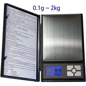 BALANCE ÉLECTRONIQUE Balance Haute Précision taille XL 0.1g/100mg-max 2