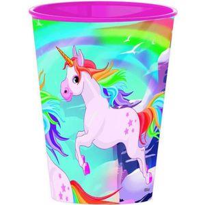 TASSE D'APPRENTISSAGE Gobelet licorne verre plastique Disney enfant GUIZ