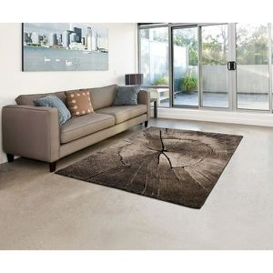 Genial TAPIS Tapis De Salon IBIZA   605 95   Nature Marron   80