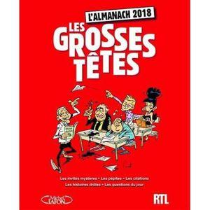LIVRE MODE Livre - l'almanach des grosses têtes (édition 2018