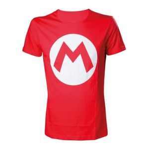 T-SHIRT T-Shirt Mario Rouge