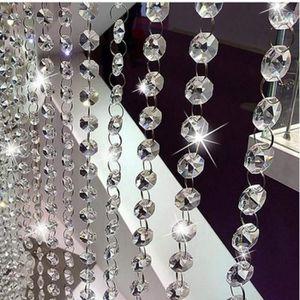 RIDEAU DE PORTE @M6660 Argent Perles Rideau de Porte en Cristal Ga