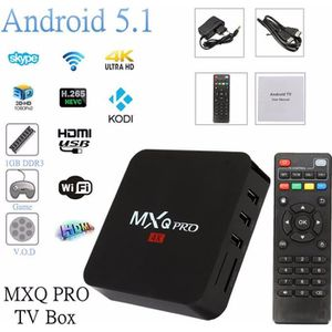 BOX MULTIMEDIA MXQ Pro 4K HD Quard Core Android 5.1 TV Box XBMC S