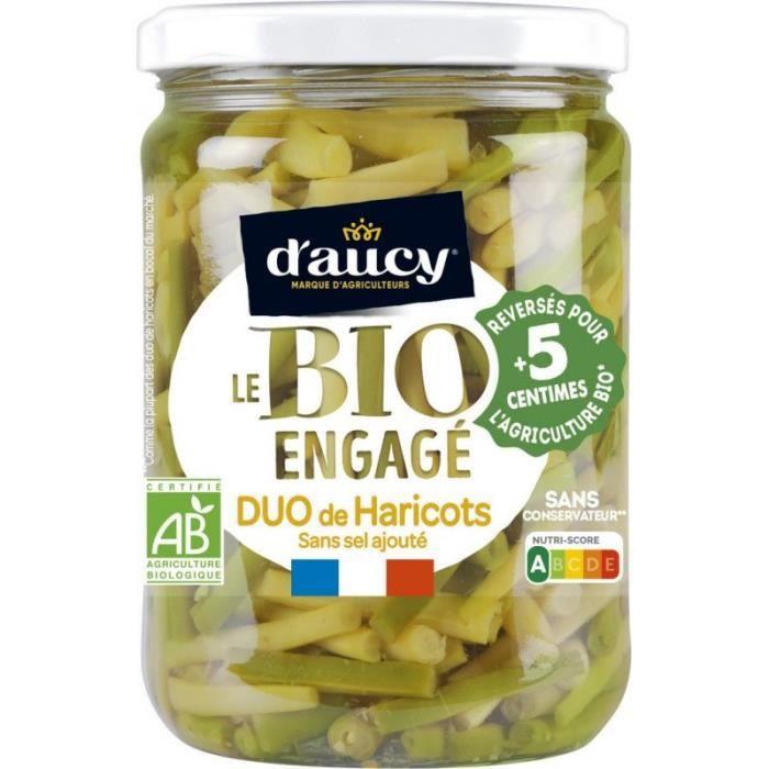 D Aucy Haricots vert & haricot blanc Bio D'AUCY