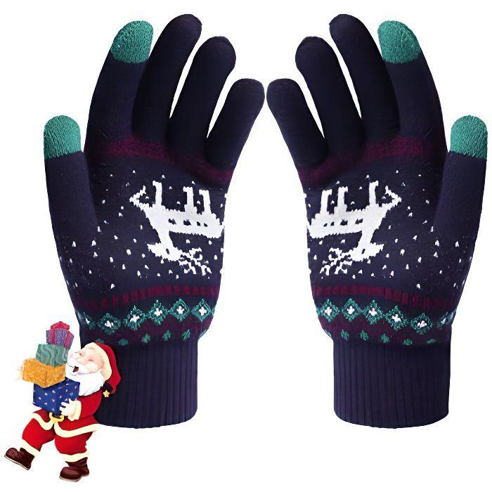femme Gants chauffants d'hiver Gants professionnels à écran tactile Gants de sport d'hiver Running d'extérieur Gants vélo Gants chau