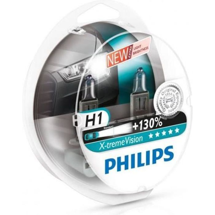 Ampoules H1 Philips X-treme Vision
