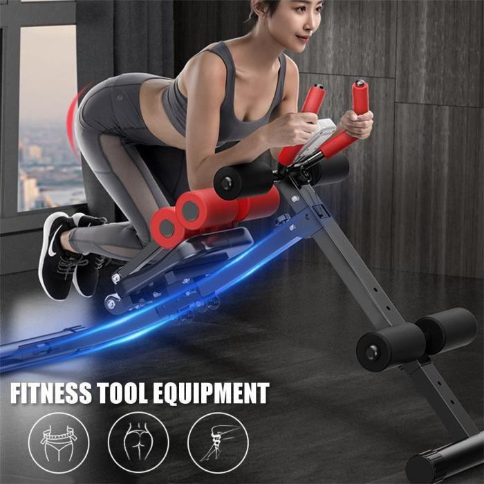 Entraîneur Abdominal Piable Réglable équipement d'exercices de Gymnastique à Domicile