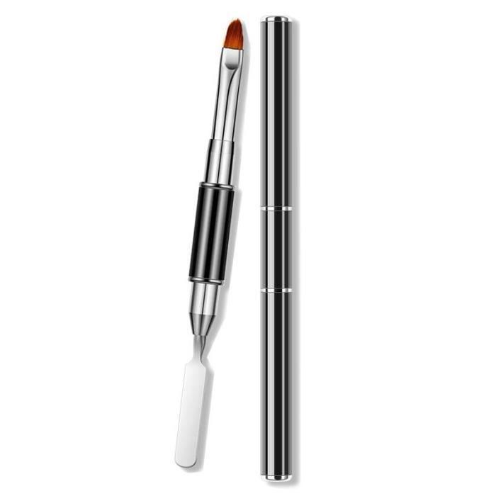 Pinceau à ongles en acrylique, 3 pièces-lot, stylo pour dessiner des extensions, dégradé, French Manicure~1pcs Gel Remov BD15577
