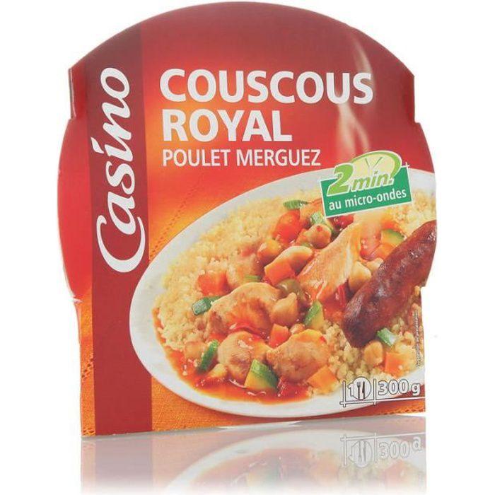 Couscous Royal Poulet Merguez - 300g