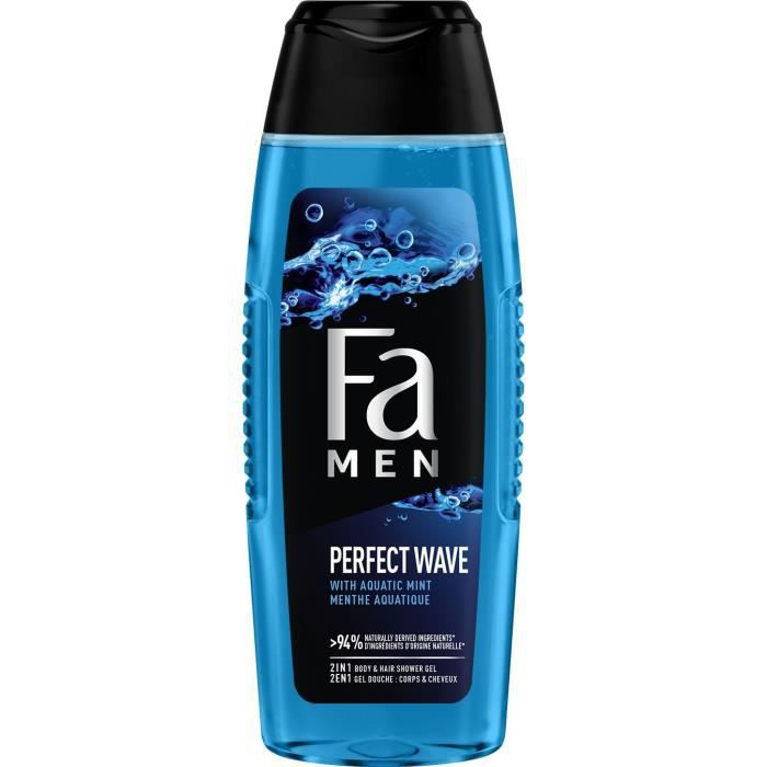 FA Shampooing douche Perfect Wave - Pour homme - 250 ml
