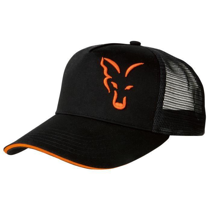 Casquette Fox Trucker Black/Orange - noir/orange - TU