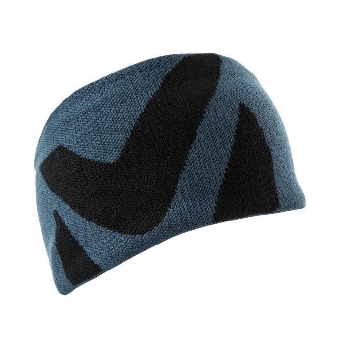 Bonnet Millet Logo Headband Bleu Homme aille unique