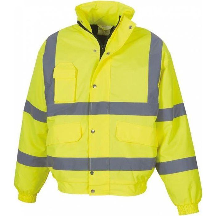 Blouson de sécurité - haute visibilité - HVP211 - jaune fluo