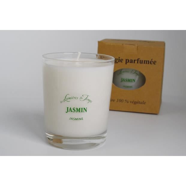 Bougie parfum jasmin (180gr.)